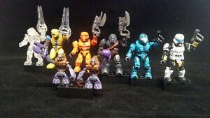 MEGA BLOKS Halo Series 3 Blind mystery pack Common, Rare & Ultra Rare figures