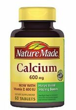 Nature Made Calcium with Vitamin D 600mg Tablets