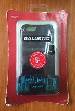 Ballistic Urbanite Case for Apple iPhone 6/6s -Black/Green Glow - In Box OEM