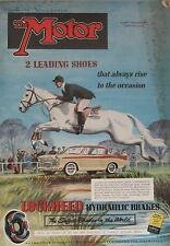 Motor magazine 3/12/1958 featuring Fiat Abarth 750 road test, Vanwall