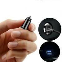 Mini Dual USB Smart Car Charger 3.1A For iPhone Samsung Mobile Phone Tablet GPS