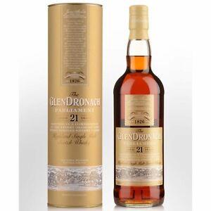 The GlenDronach 21 Year Old Parliament Single Malt Scotch Whisky 700ml
