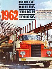1962 Dodge Diesel Semi Truck 12-page Car Sales Brochure - KC-800 KC-900 NC-900