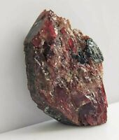 Natural Large Red Garnet Crystal, Rare and unique Crystal, Madagascar, US SELLER