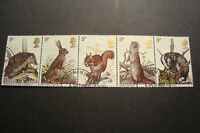GB 1977 Commemorative Stamps~Wildlife~Fine Used Set~ex fdc~UK Seller