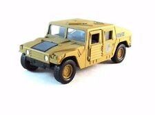 MILITARY HUMMER , ARMOR SQUAD IDF, WELLY 1:38 DIECAST CAR COLLECTOR'S MODEL