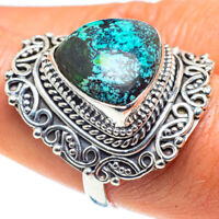 Shattuckite 925 Sterling Silver Ring Size 9 Ana Co Jewelry R58740F