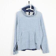 Vintage ADIDAS Small Logo Hoodie Sweatshirt Blue small S
