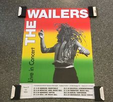 Wailers Original Concert Poster From Germany Berlin
