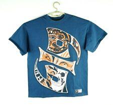 Rey Mysterio 619 T-Shirt Retro Vtg WWE Wrestling | Mens Large WWF Blue