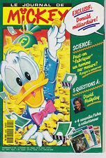 JOURNAL DE MICKEY N° 1959 NOVEMBRE 1990 DAVID HALLYDAY