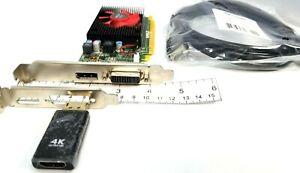 Dell AMD Radeon R5 340X 2GB PCIe DVI DisplayPort 4K HDMI Video Card Windows 10