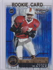 REGGIE WAYNE ROOKIE CARD 2001 Quantum Leaf RC Indianapolis Colts Football WR