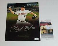 Brandon Backe Signed 8x10 Photo Houston Astros JSA COA 2005 World Series 26368