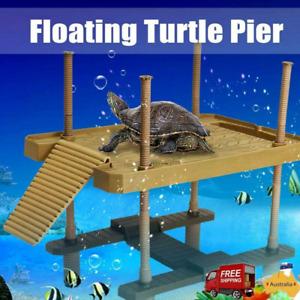 Aquarium Tank Turtle Reptile Platform Dock Pier Basking Terrace Island Climb Toy