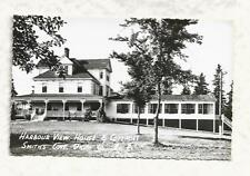 RPPC, Harbour View House & Cottages, Smith's Cove Digby Nova Scotia, Canadian PC