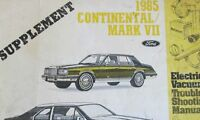 """1969 69 Lincoln Continental Mark III 3 Color Laminated Wiring Diagram 11/"""" X 17/"""""""