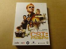 3-DISC DVD BOX / CSI: MIAMI - SEIZOEN 6 - AFLEVERINGEN 6.1 - 6.11