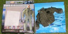 Blue Box BBI escala 1/6 nos Aviador Tipo G-8 Chaqueta de vuelo para DRAGON hizo figuras