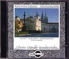 OISTRAKH, OBORIN, knushevitsky Schubert Shostakovich Haydn CD Prague Spring 1961