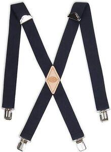 Dickies Men's Solid Straight Clip Suspender