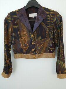 Vintage Dorothy Schoelen Platinum  Jacket & Skirt Set Size 10 41821-12D7