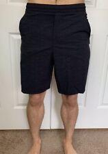Lululemon Mens Size S Pace Breaker Short 9 Linerless Black HTDE Train Run Swift