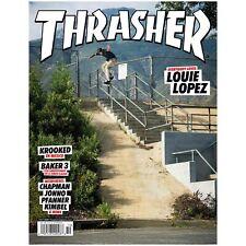 Thrasher Skateboard Magazine Issue October 2020 Includes Free Sticker