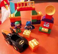 LEGO DUPLO SET 10544 THE JOKER CHALLENGE 2 FIGURES BATMAN & THE JOKER LOVELY