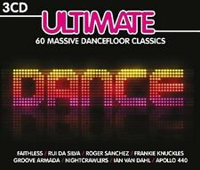 ULTIMATE DANCE Weird Science,Disco Citizens,Zoe,Milky,Olive,Faithless 3 CD NEU