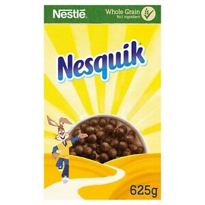 Nestlé Nesquik Cereal 625g Chocolate Flavour Whole Grain Cereal