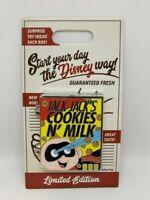 Jack Jack's Cookies N Milk Cereal Box Start Your Day LE 4000 Disney Pixar Pin