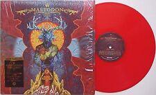 Mastodon - sangue montagna LP 2010 rosso vinile assassino essere ucciso metallo progressivo