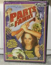 Parts of the Family (DVD 2005) RARE TROMA HORROR 2 ZOMBIE FILMS  BRAND NEW