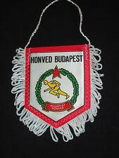 fanion wimpel pennant football ancien HONVED BUDAPEST BUDAPESTI HUNGARY