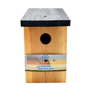 Open Fronted Deluxe or Standard Bird Nest Box - Choices and Deals