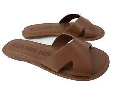 Gianni Bini Stellie Lea Ban Slide Sandal Women's Size 5.5 M Brown
