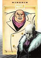 KINGPIN / Marvel 75th Anniversary (2014) BASE Trading Card #45