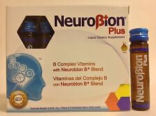 NEUROBION PLUS B COMPLEX VITAMINS 10 Drinkable Vials - VITAMINAS COMPLEJO B