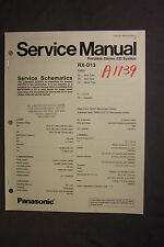 Various Boomboxes Service Manuals