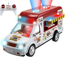 Rc Truck Car Meals Wheels Burger Smoothie Lights Music Boy Girl 3+ Kids Toy Play