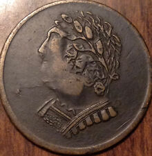 1820 LOWER CANADA HALF PENNY TOKEN BUST AND HARP IN BEST OF CIRC. CONDITION !!