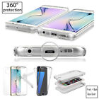 New Shockproof 360° Protective Gel Case for Apple iPhone 5 6 7 7+ 8+ & X Models