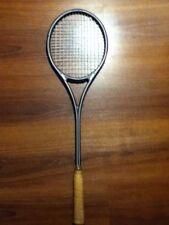 "Prince Graphite Pro Strung Squash Racket 3-7/8"" 1986 Retro Collectable Free Ship"
