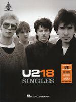 U2 GUITAR TAB / TABLATURE /  18 SINGLES / ***BRAND NEW*** / GUITAR  SONGBOOK