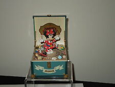 "Disney Schmid Minnie's Toy Chest Hand Painted Music Box ""Minnie's Yoo Hoo"""