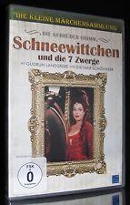 DVD SCHNEEWITTCHEN UND DIE SIEBEN (7) ZWERGE - Märchen - GUDRUN LANDGREBE * NEU