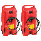 Scepter Flo N Go DuraMax 14 Gallon Portable Gas Fuel Tank with Pump (2 Pack) <br/> FREE 1-3 DAY DELIVERY WITH HASSLE-FREE, 30-DAY RETURNS!