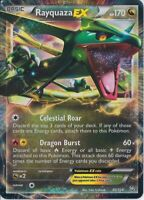 Pokemon TCG Rayquaza EX 85/124 BW Dragons Exalted Ultra Rare NM/M SKU#266