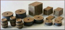 OO gauge Crates, barrels and sacks (67 items) - Knight Wing - PM101 - free post
